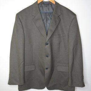 Jones New York Blazer Jacket Size 46R Wool Blend